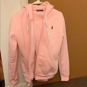 Polo by Ralph Lauren Other - Pink polo jogging suit